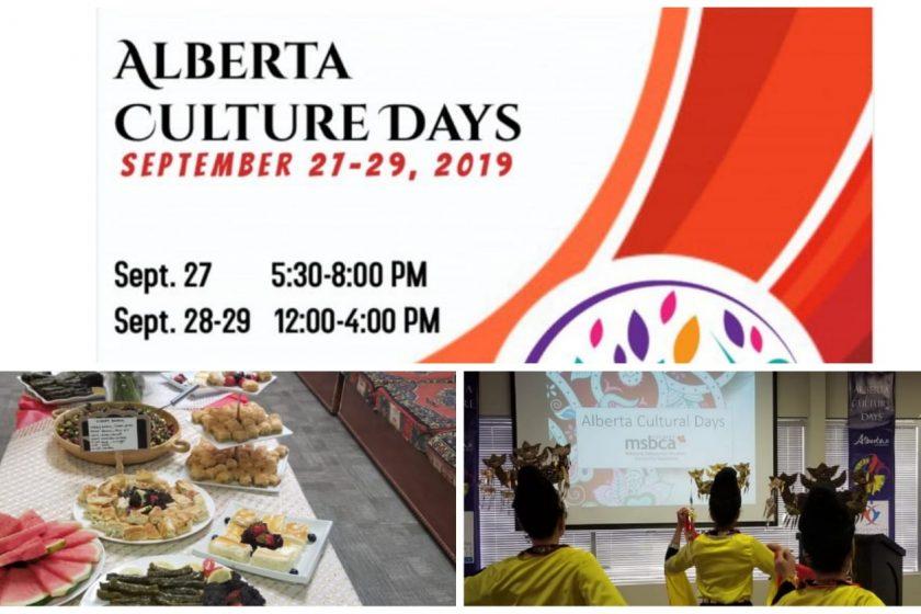 Alberta culture days 2019
