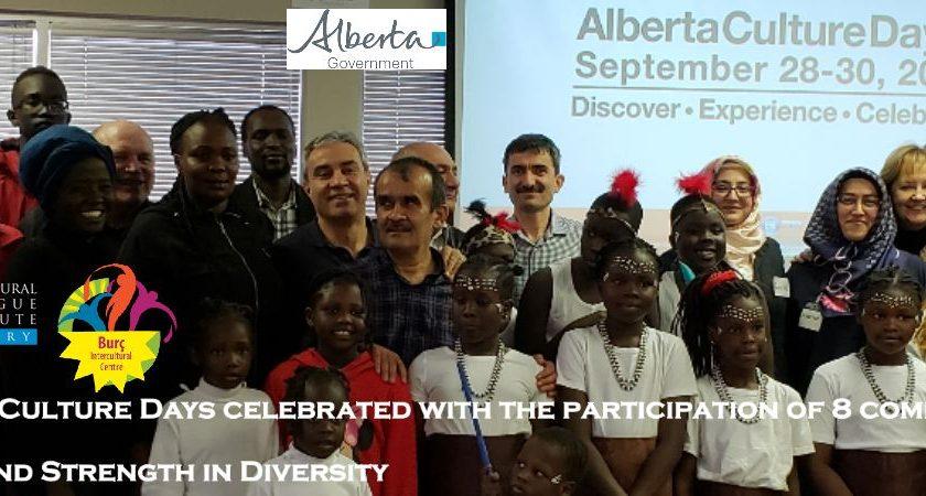 Alberta Culture Days 2018